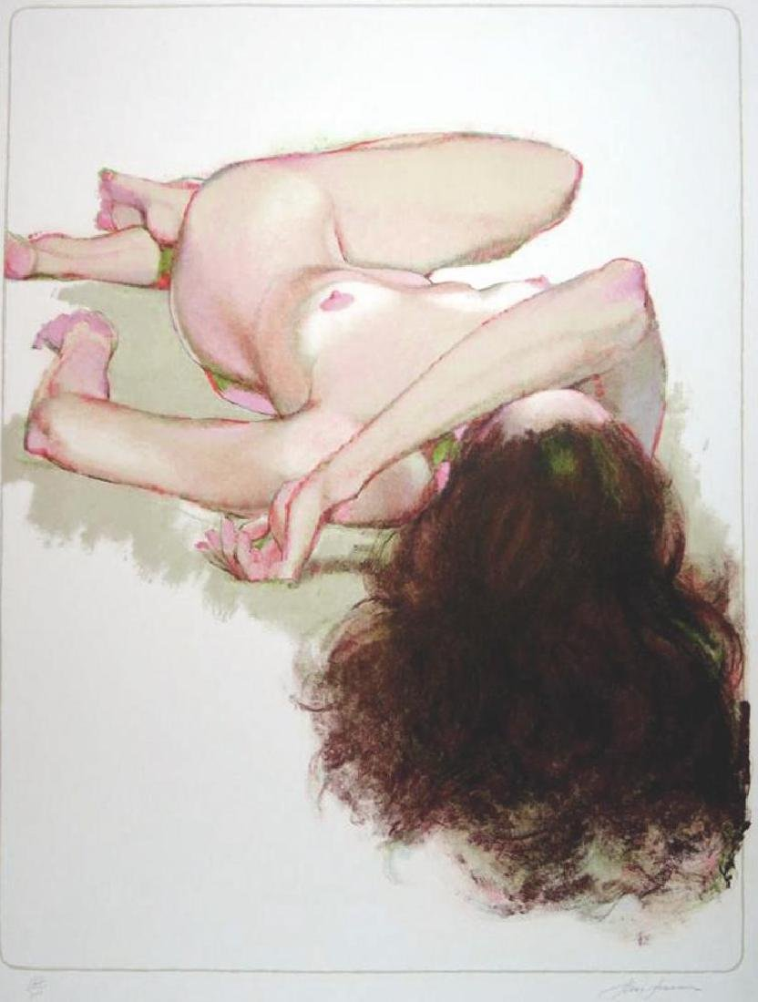 Nude Reclining Signed Limited Edition Litho in - 2