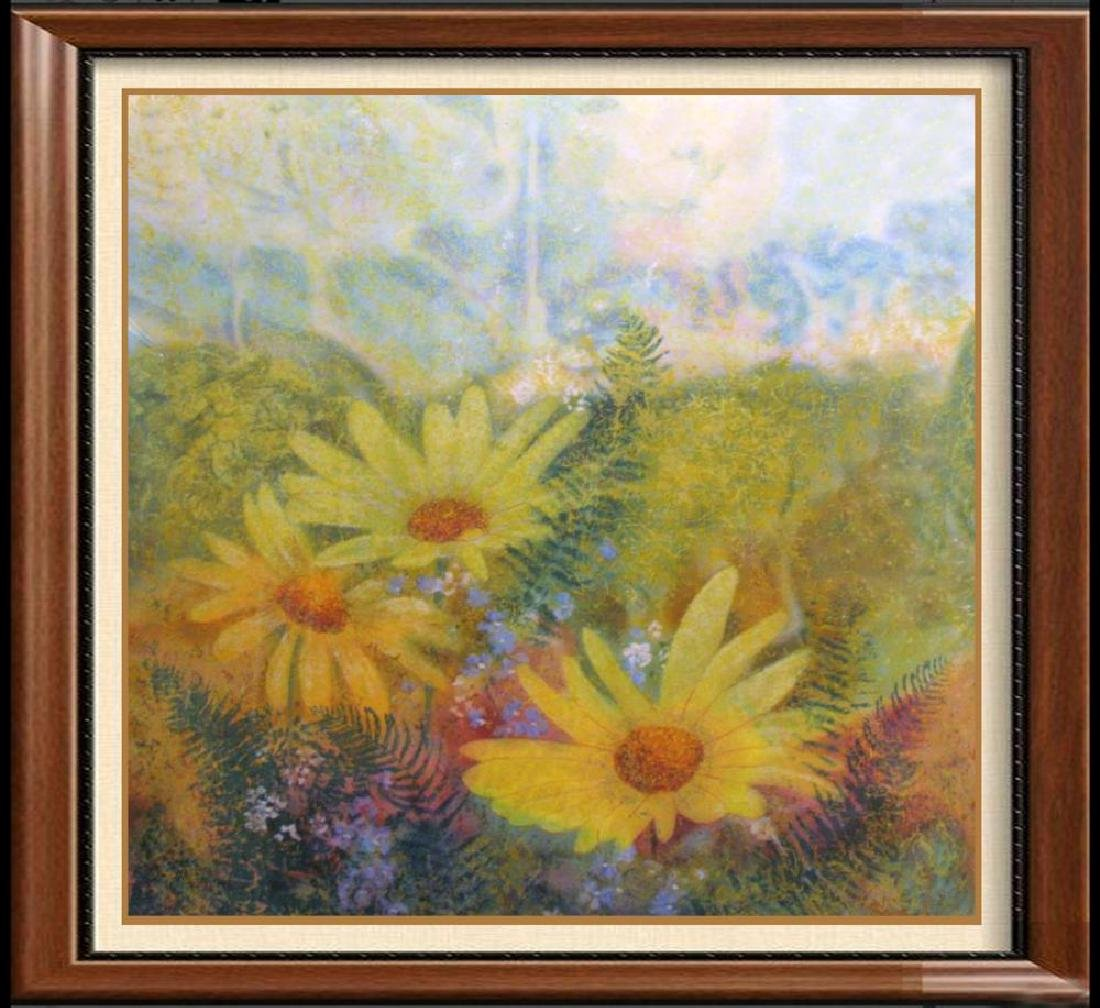 Sunflowers Signed Sung Limited Edition Sale
