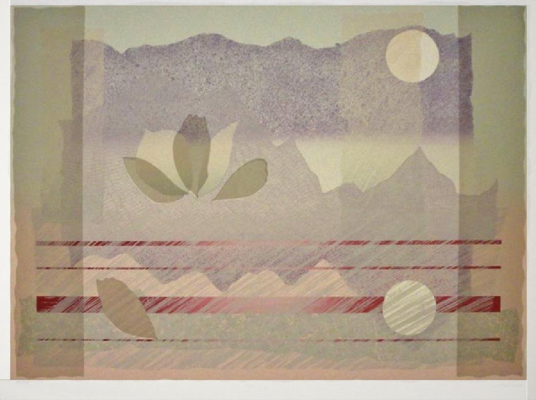 Abstract Purple Pink Mountain View Huge Sale - 2