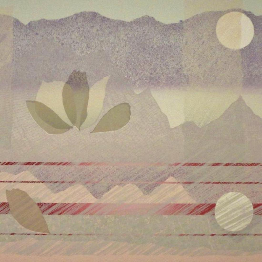 Abstract Purple Pink Mountain View Huge Sale - 3