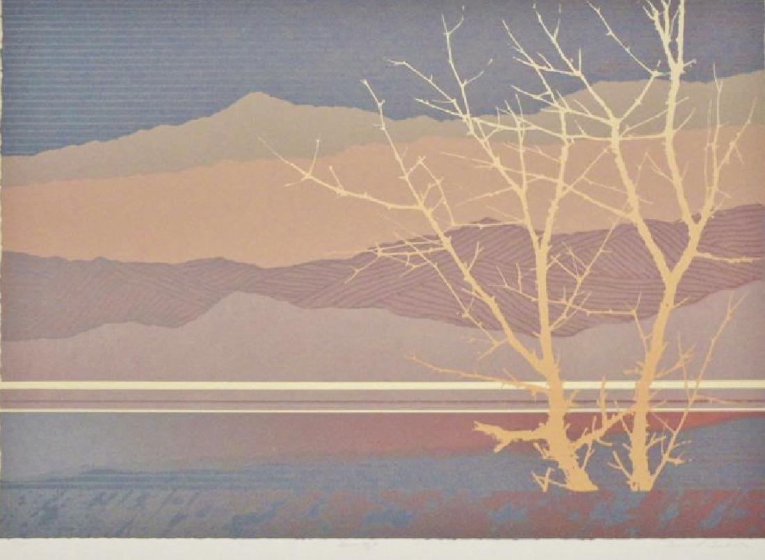 Mountain Modern Abstract Limited Edition Art Sale - 2
