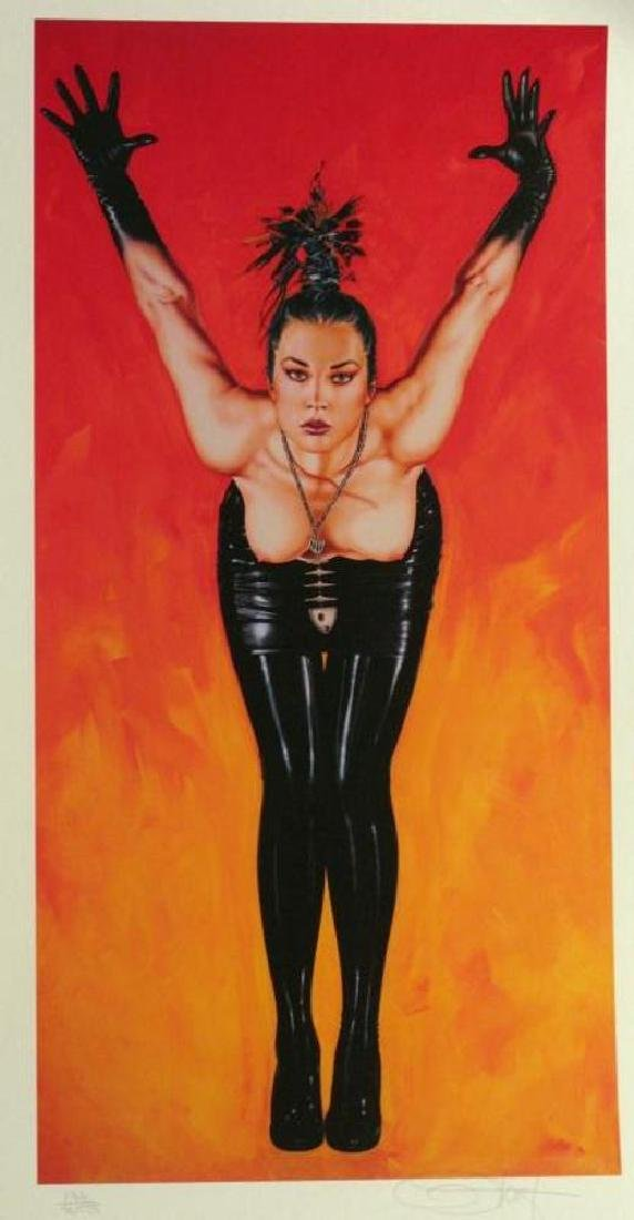 Olivia 3 Panel Rare Ltd Ed Signed Nude Art Sale - 4