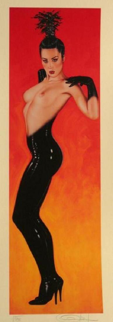 Olivia 3 Panel Rare Ltd Ed Signed Nude Art Sale - 5