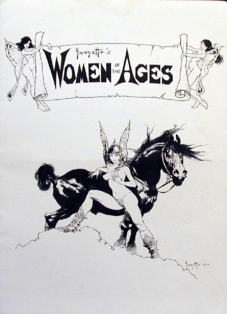 Suite of Frank Frazetta Women of Ages Collectible - 2