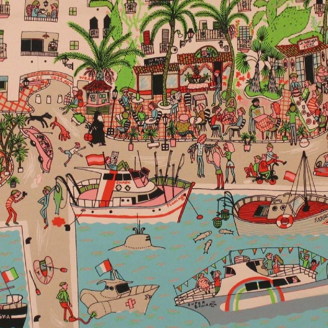 Fun Detailed Hand Signed Limited Edition Boating - 2