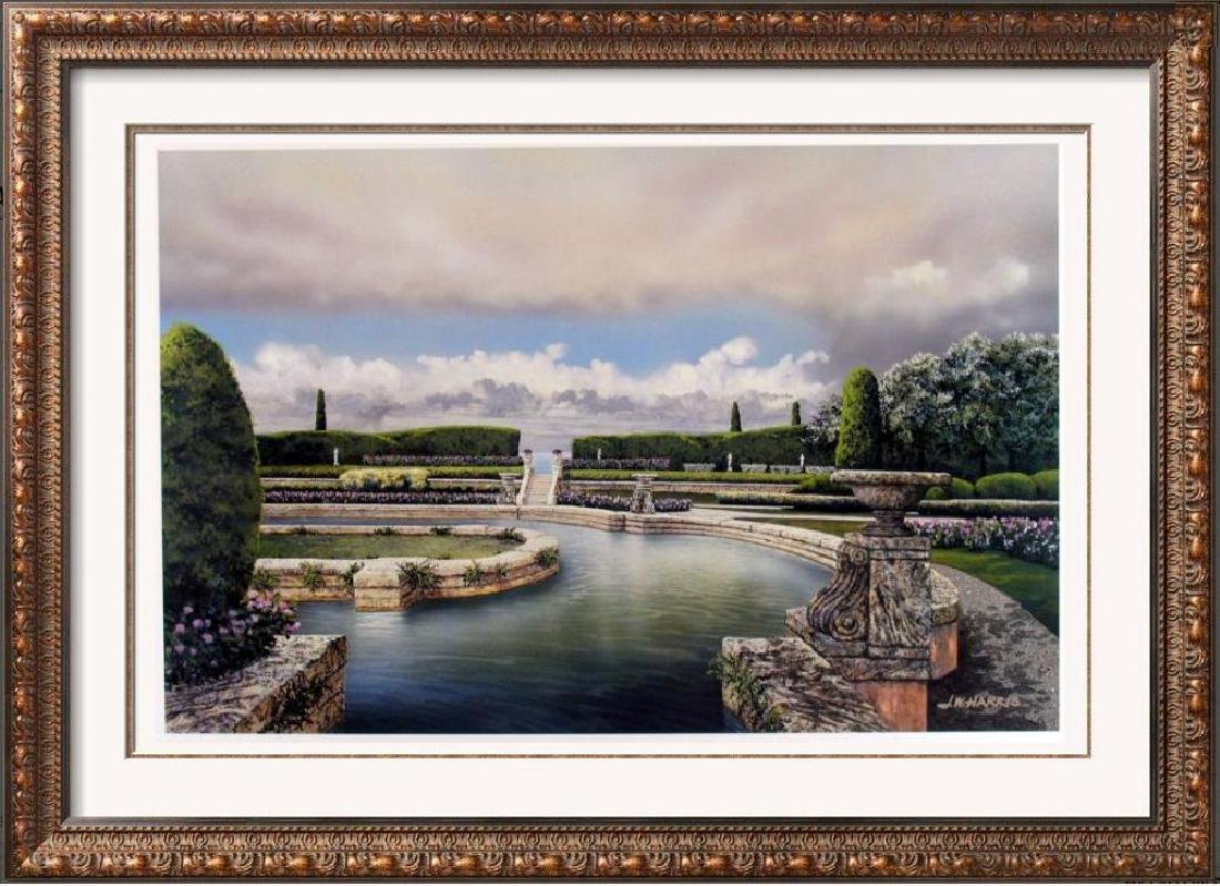 Realistic Harris Plate Signed Lithograph Only $20