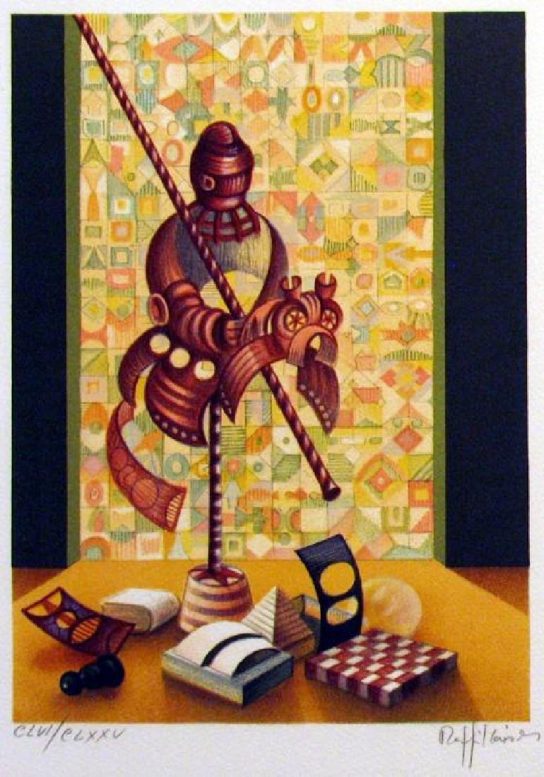 Chess Knight Art Signed Lithograph Limited Edition Only - 2