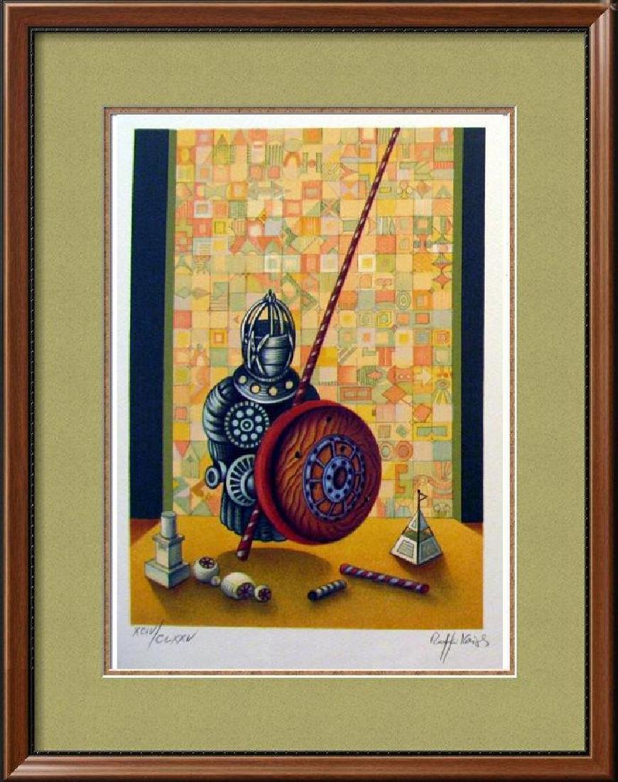 Chess Pawn Art Signed Lithograph Limited Edition Only