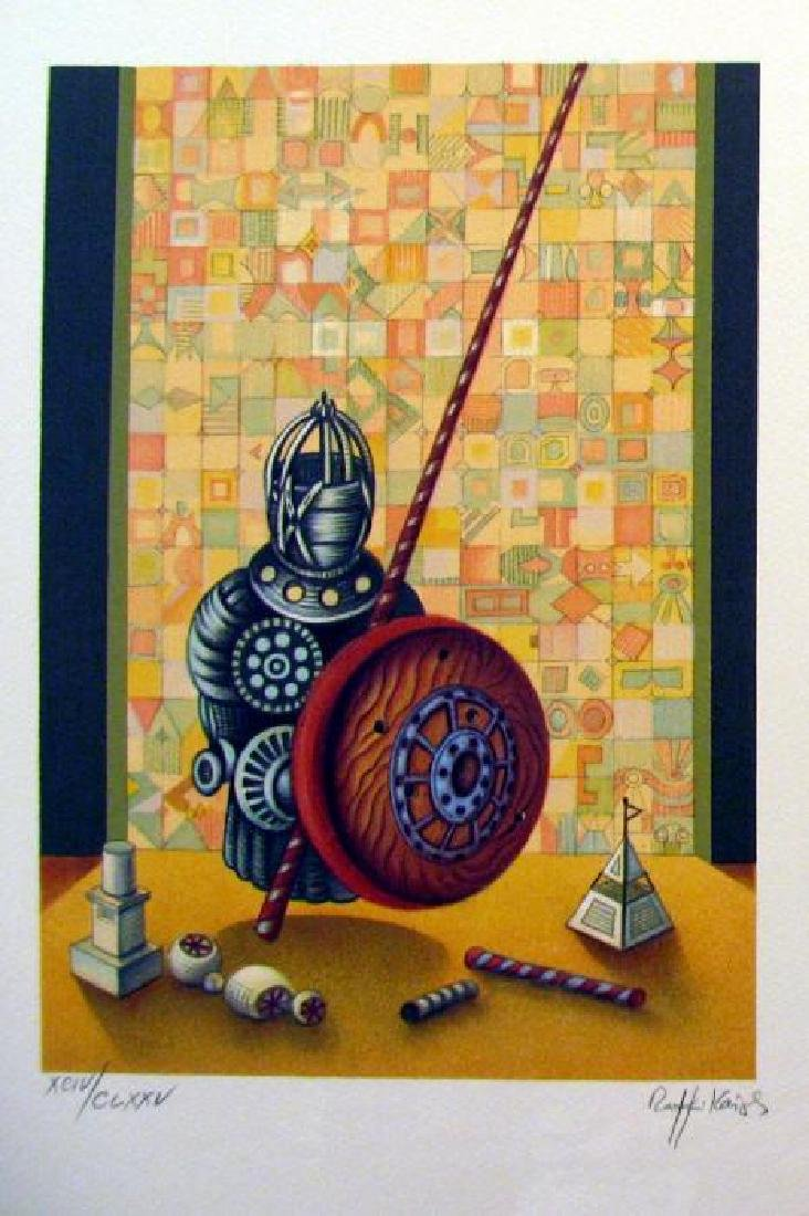 Chess Pawn Art Signed Lithograph Limited Edition Only - 2