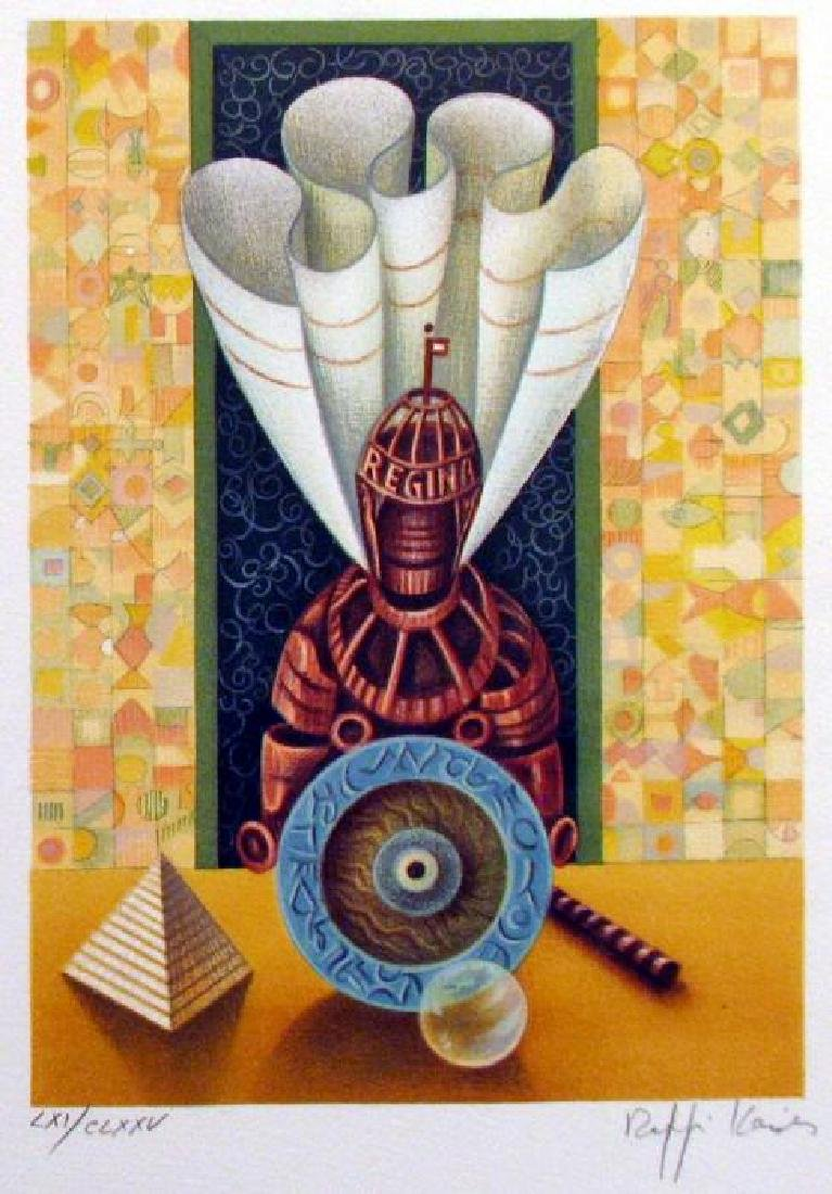 Chess Queen Art Signed Lithograph Limited Edition Only - 2