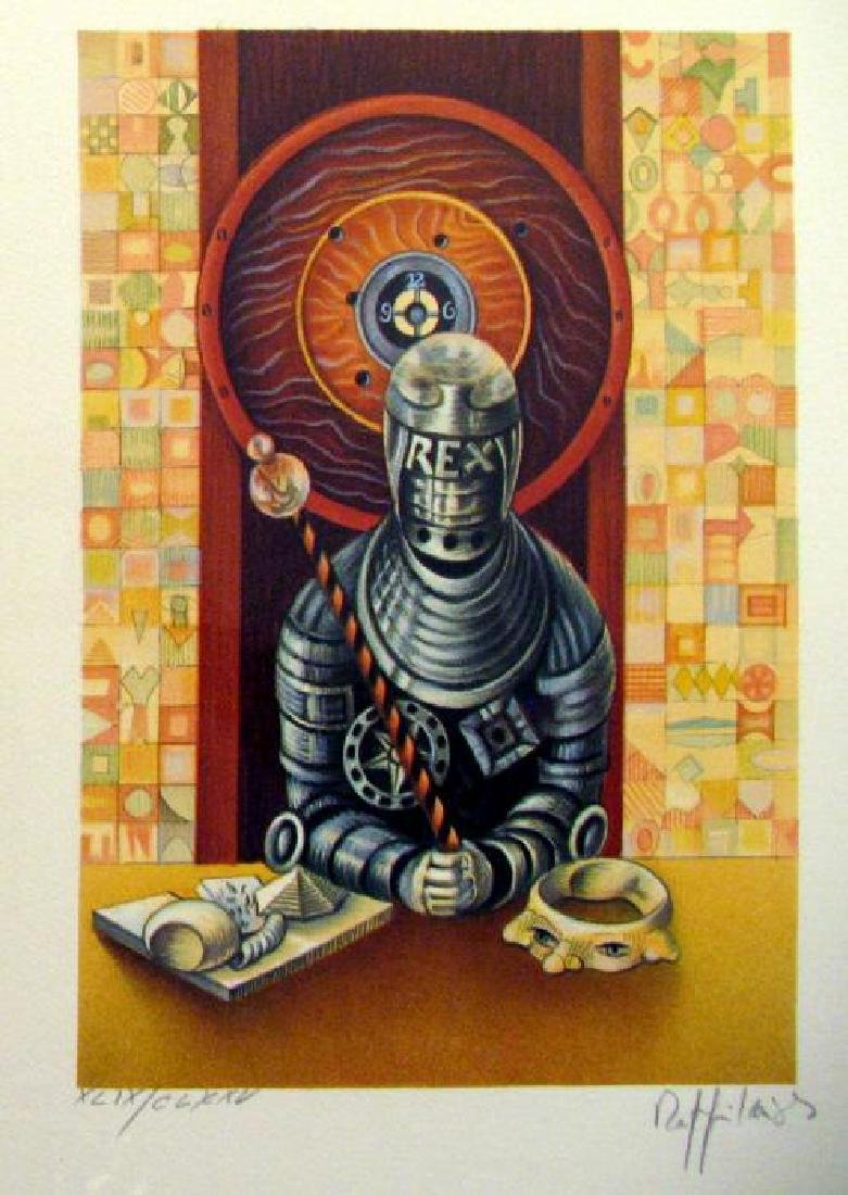 Chess King Art Signed Lithograph Limited Edition Only - 2