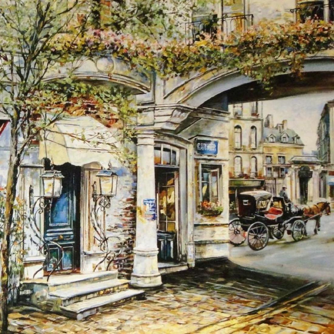 Russian Artist European Street Scene Fine Art Print - 3