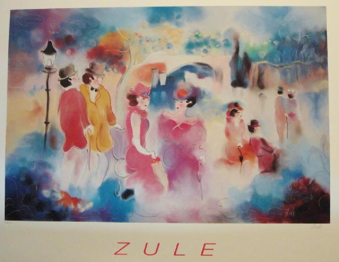 Zule Tarkay-Style Large Print Colorful Sale