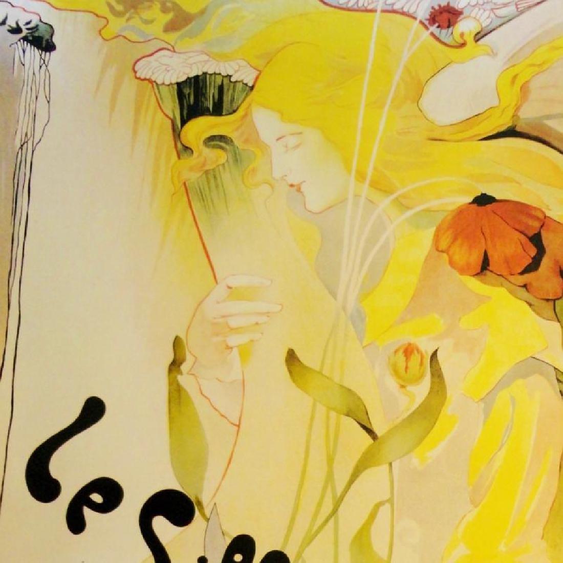 Antique Poster Reproduction Colorful Art Large Print - 2
