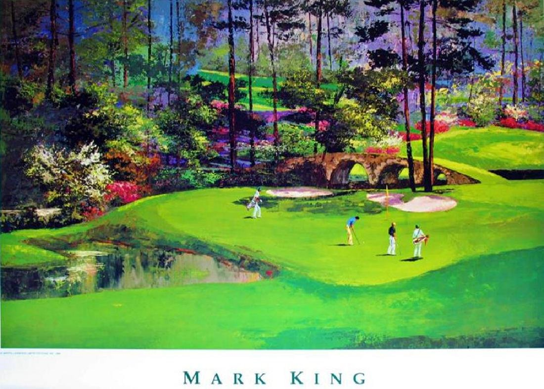 Golf Print Impressionism Augusta #11 Neiman Teacher