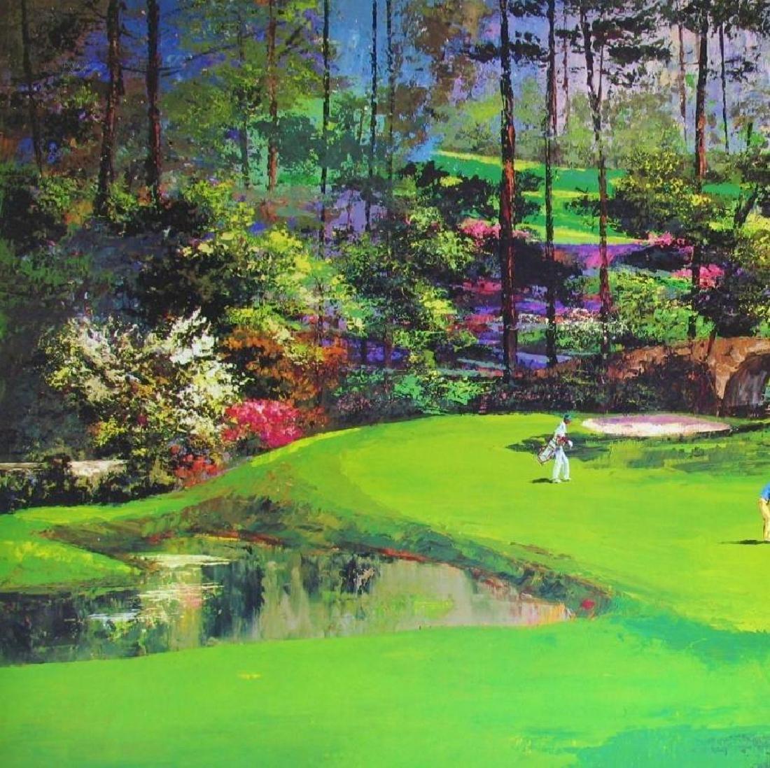 Golf Print Impressionism Augusta #11 Neiman Teacher - 3
