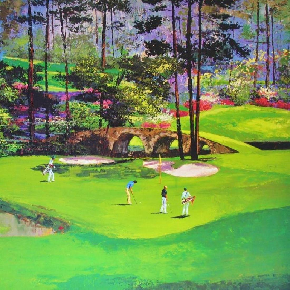 Golf Print Impressionism Augusta #11 Neiman Teacher - 4