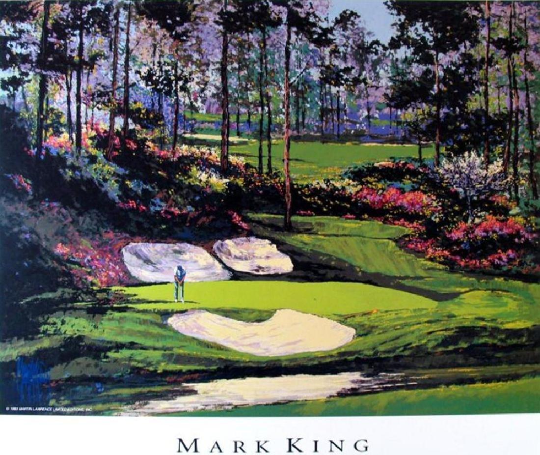 Golf Print Impressionism Augusta Amen'S Corner Neiman