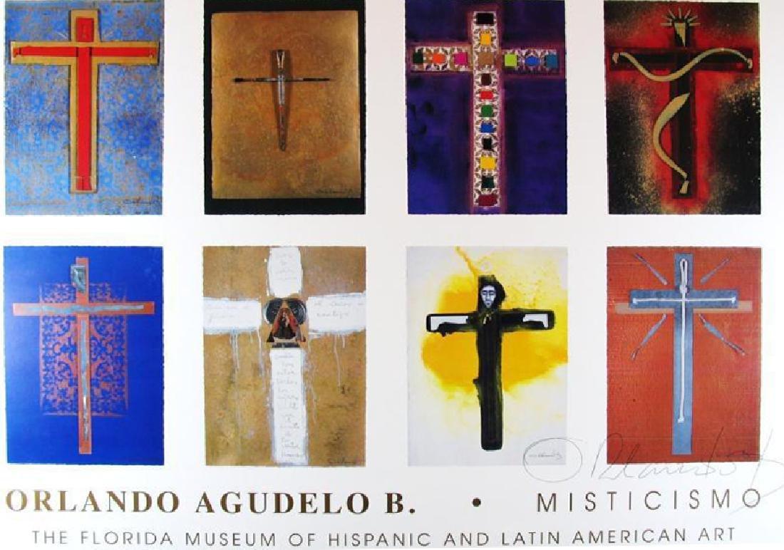 Religious Cross Fine Art Print Orlando Ab Hand Signed - 2