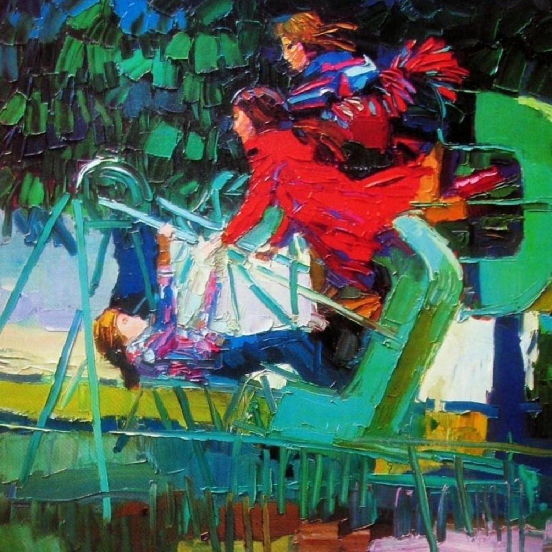Nicola Simbari Impressionism Colorful Art Print - 2