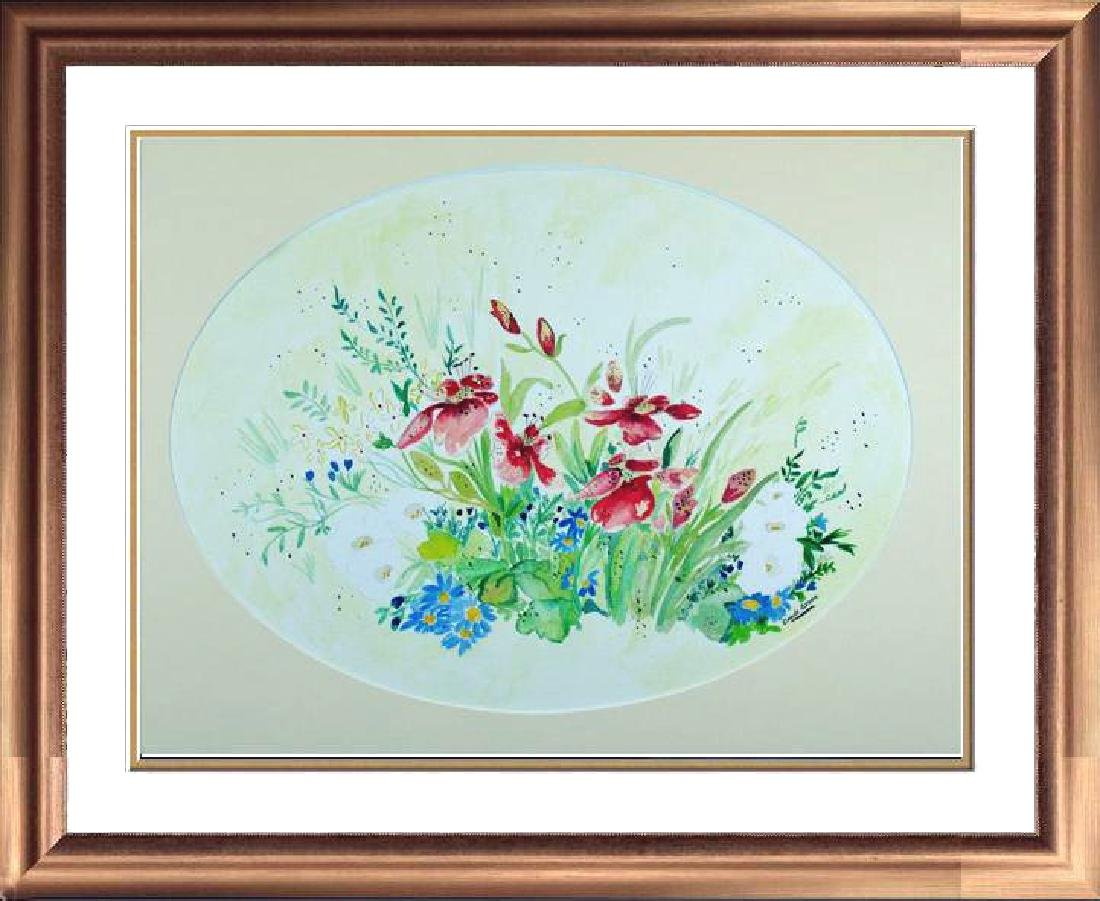 Original Watercolor Signed Carol Seger Only $30 Sale