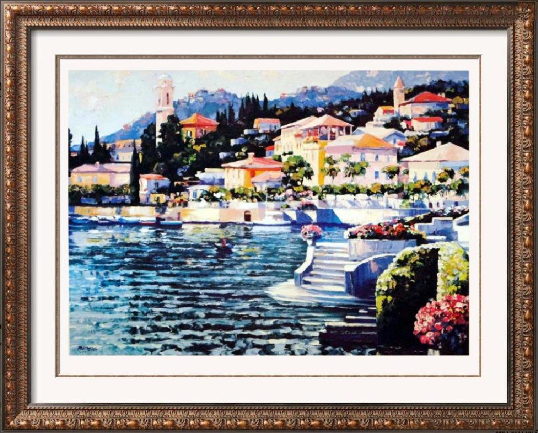 Howard Behrens Colorful Art Print Lake Como Sale