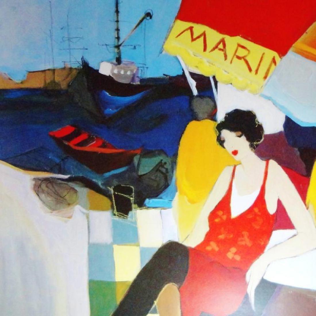 Tarkay Poster Colorful Female Women Café Scene - 2