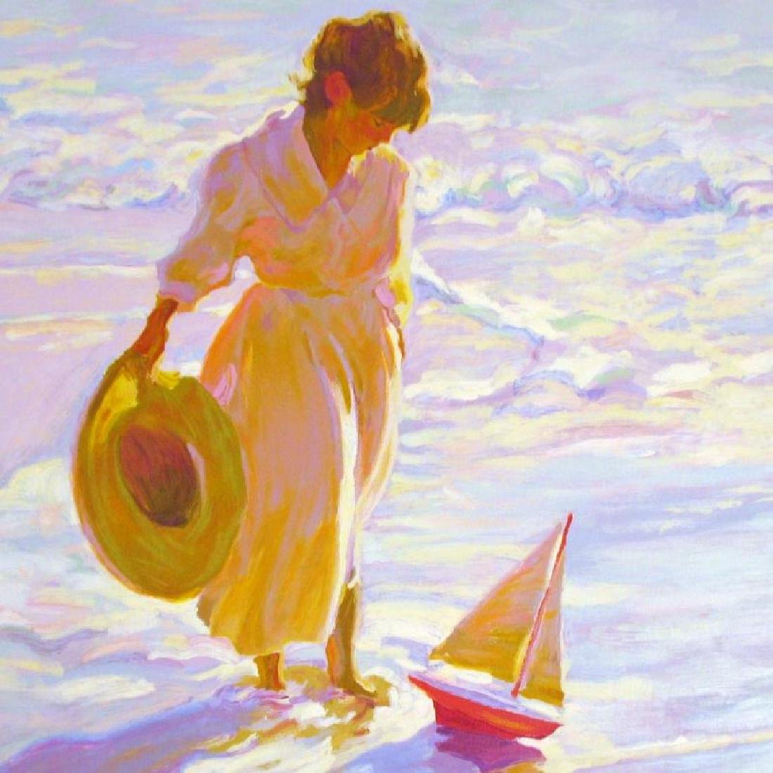 Dan Mccaw Behrens Style Beach Scene Colorful Ltd Ed - 2