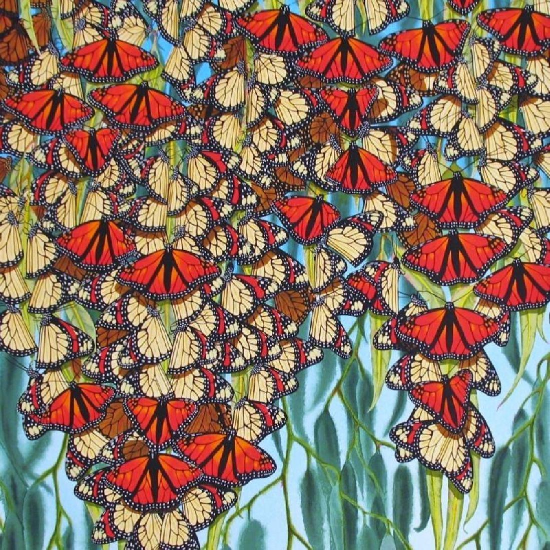 Colorful Butterfly Ltd Ed Art Estate Sale - 3