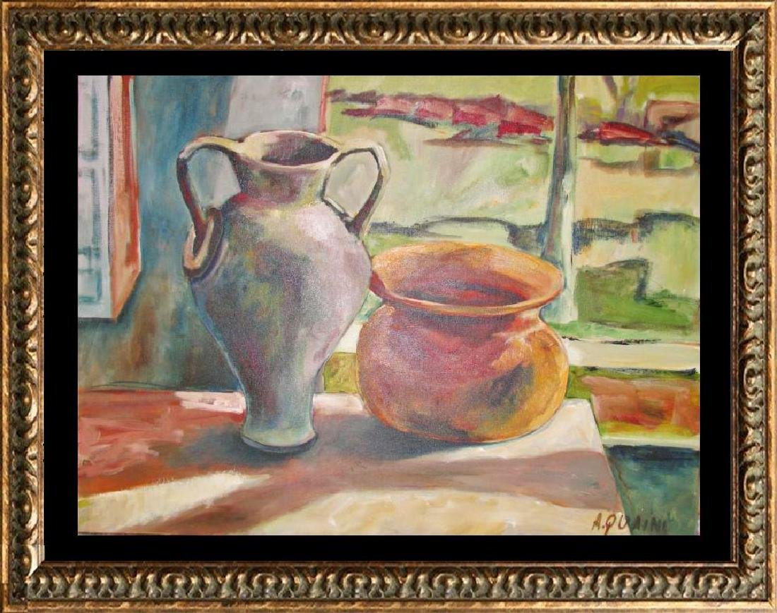 Quaini Painting Canvas Stretched ORIGINAL SIGNED