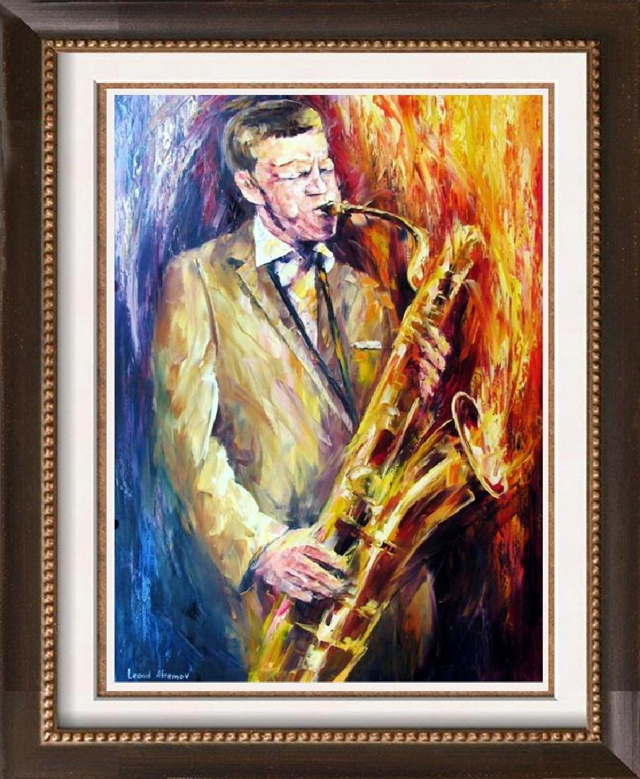 Jfk John Kennedy Blows Horn Original Painting