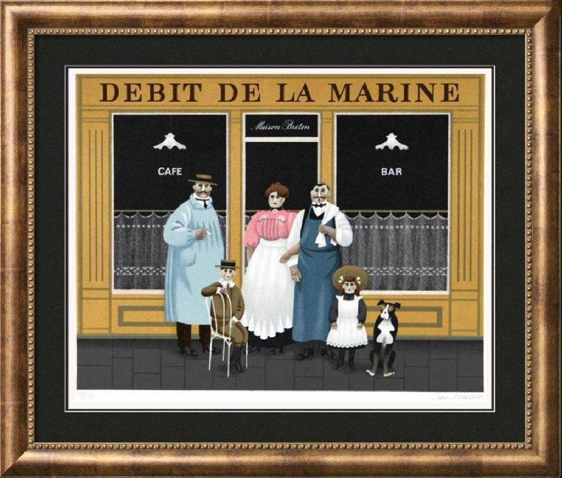 Jan Balet Paris Street Scene Signed Limited Edition