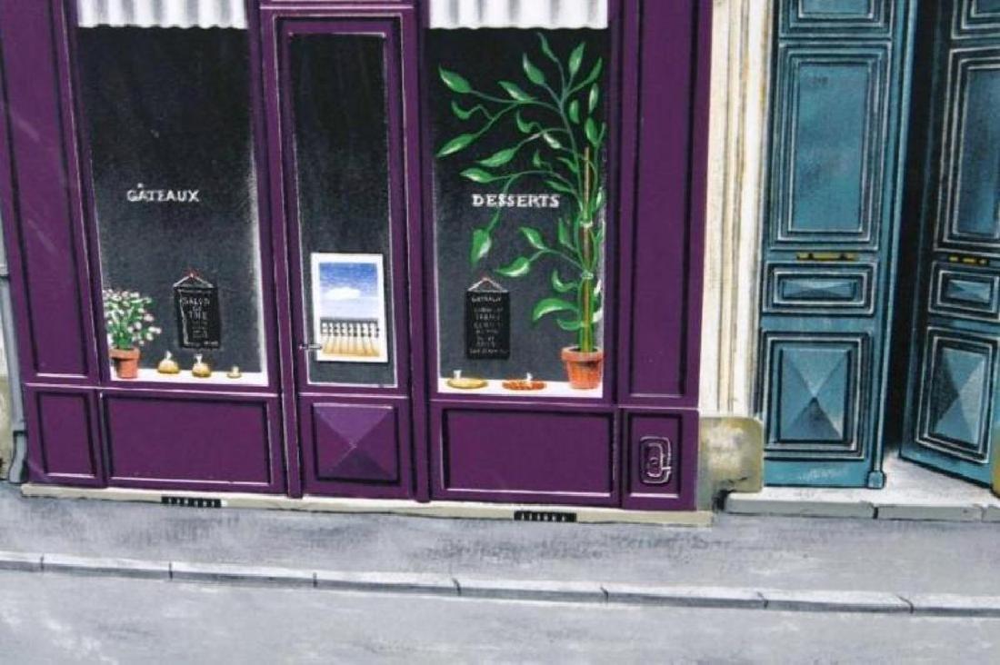 Realistic Street Scene Mozziconacci Signed Limited - 4