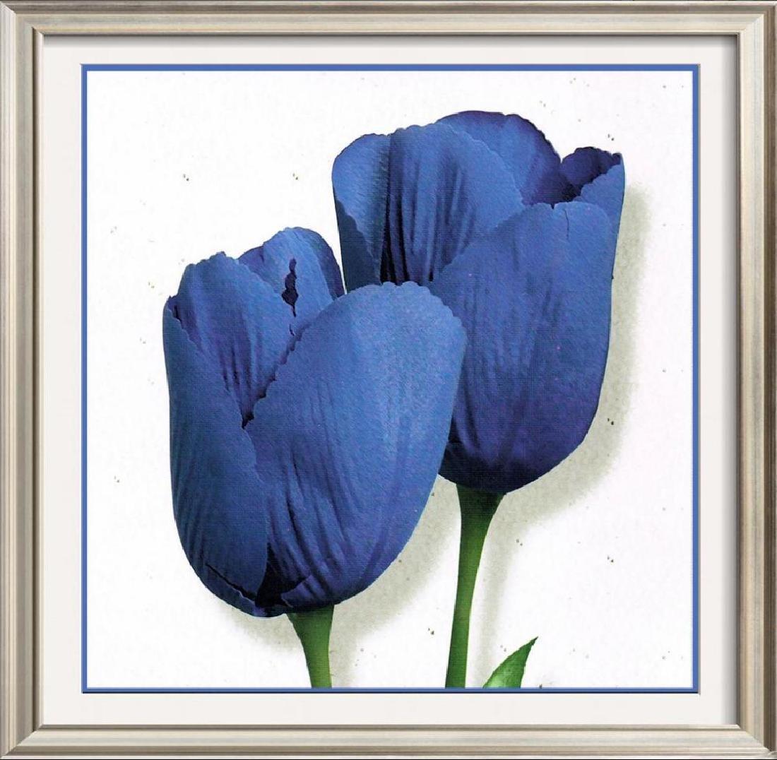 Purple Tulips Modern Canvas Giclee Dealer Sale