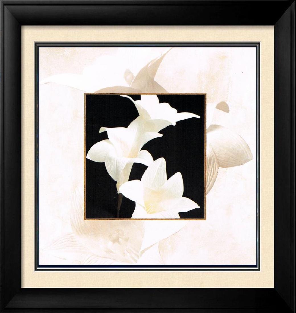 Black & White Canvas Floral Modern Clean Dealer Sale