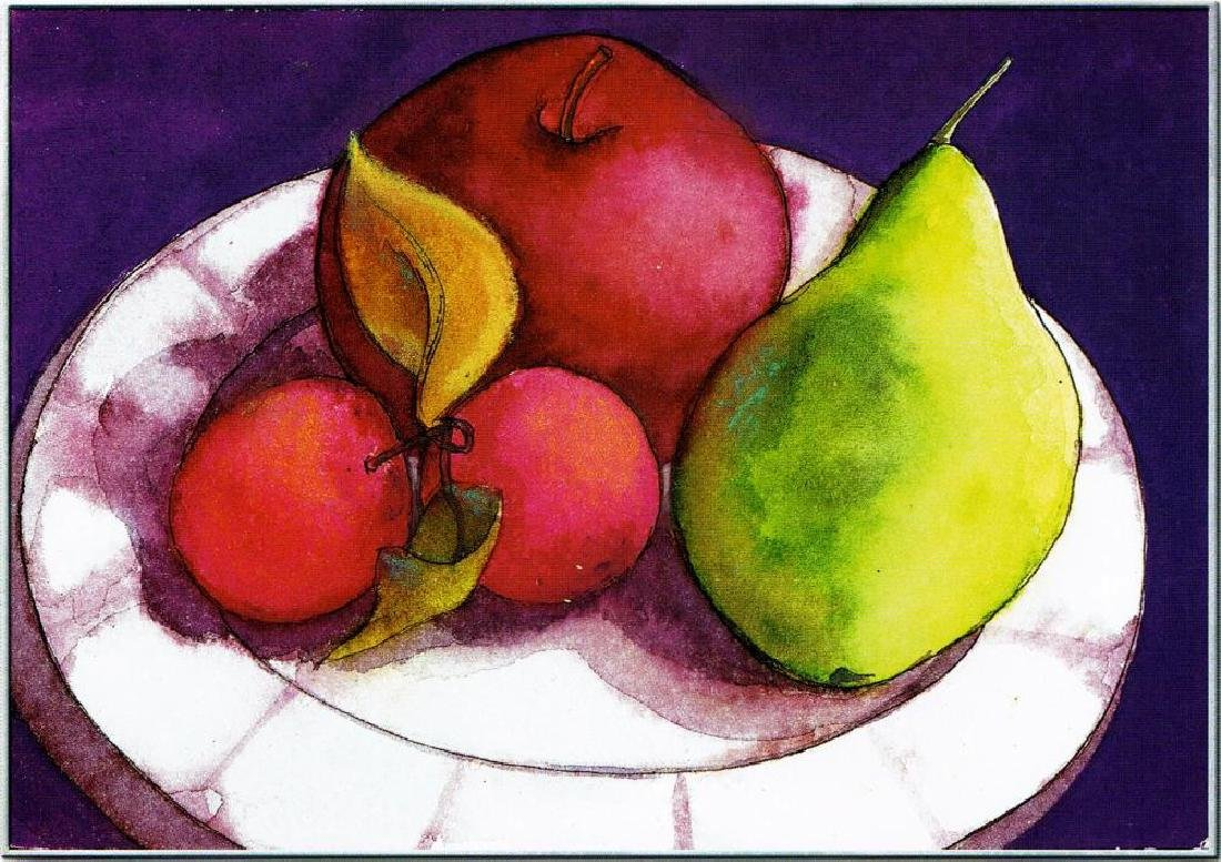 Neum Collection Fruit in Abstract Giclee on Canvas  40 - 2