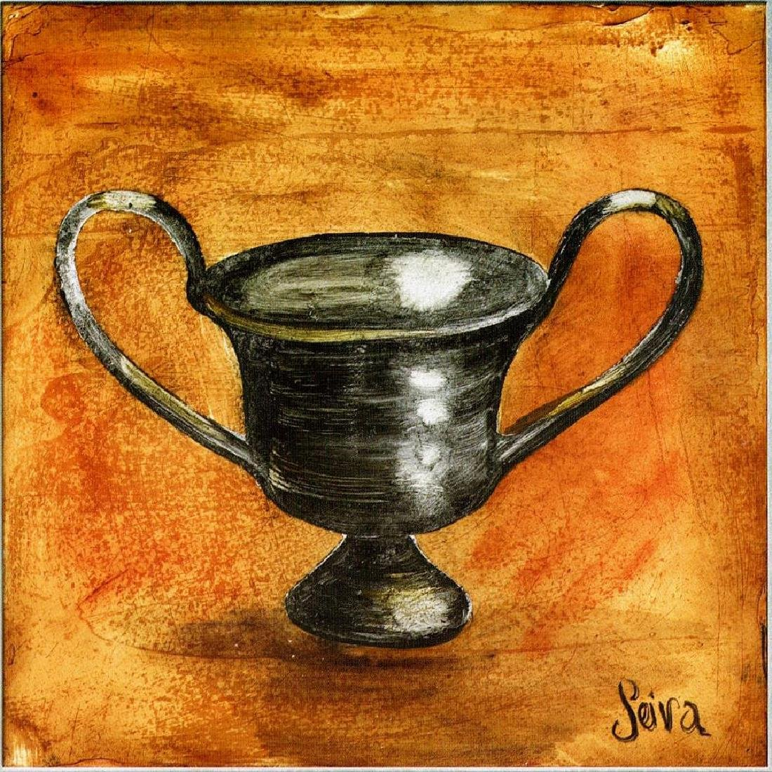51X51 CANVAS SILVER JAR GICLEE ONLY $200 - 2