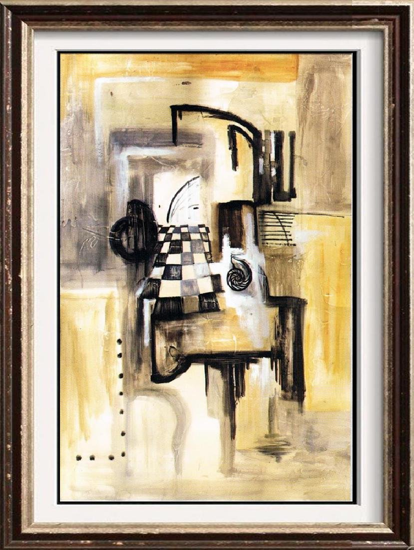 Neum Collection Abstract II Giclee on Canvas  88 x 57