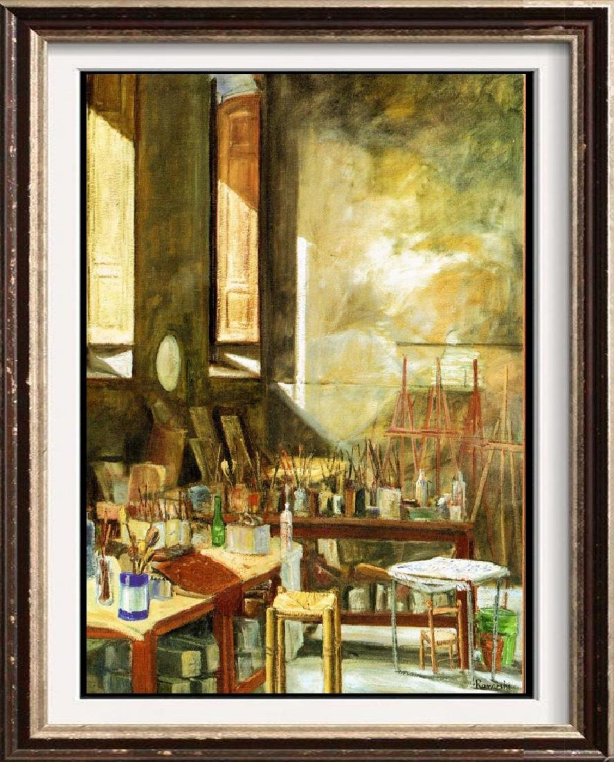Neum Collection Artist Studio Plate Signed Giclee on