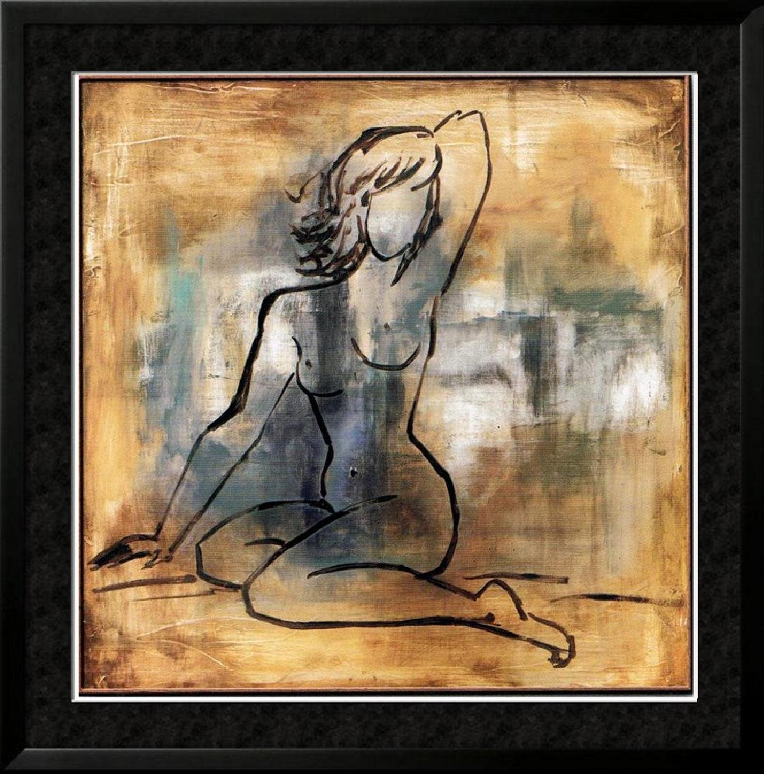 Dealer Erotic Sale Earth Tone Nude Figurative Canvas