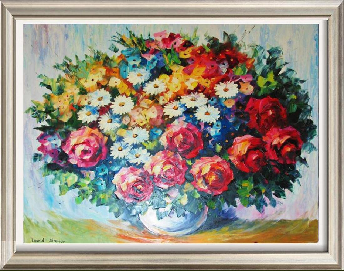 Bloom Original Canvas Signed Textured Rich Colors