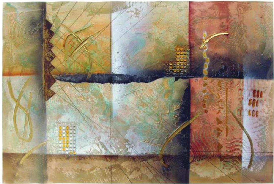 Figurative Abstract Modern Large Canvas Original - 2