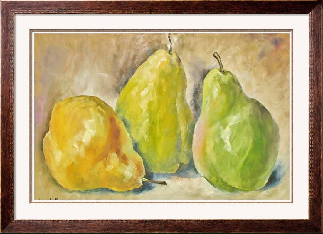 Textured Food Related Impressionistic Palette Knife
