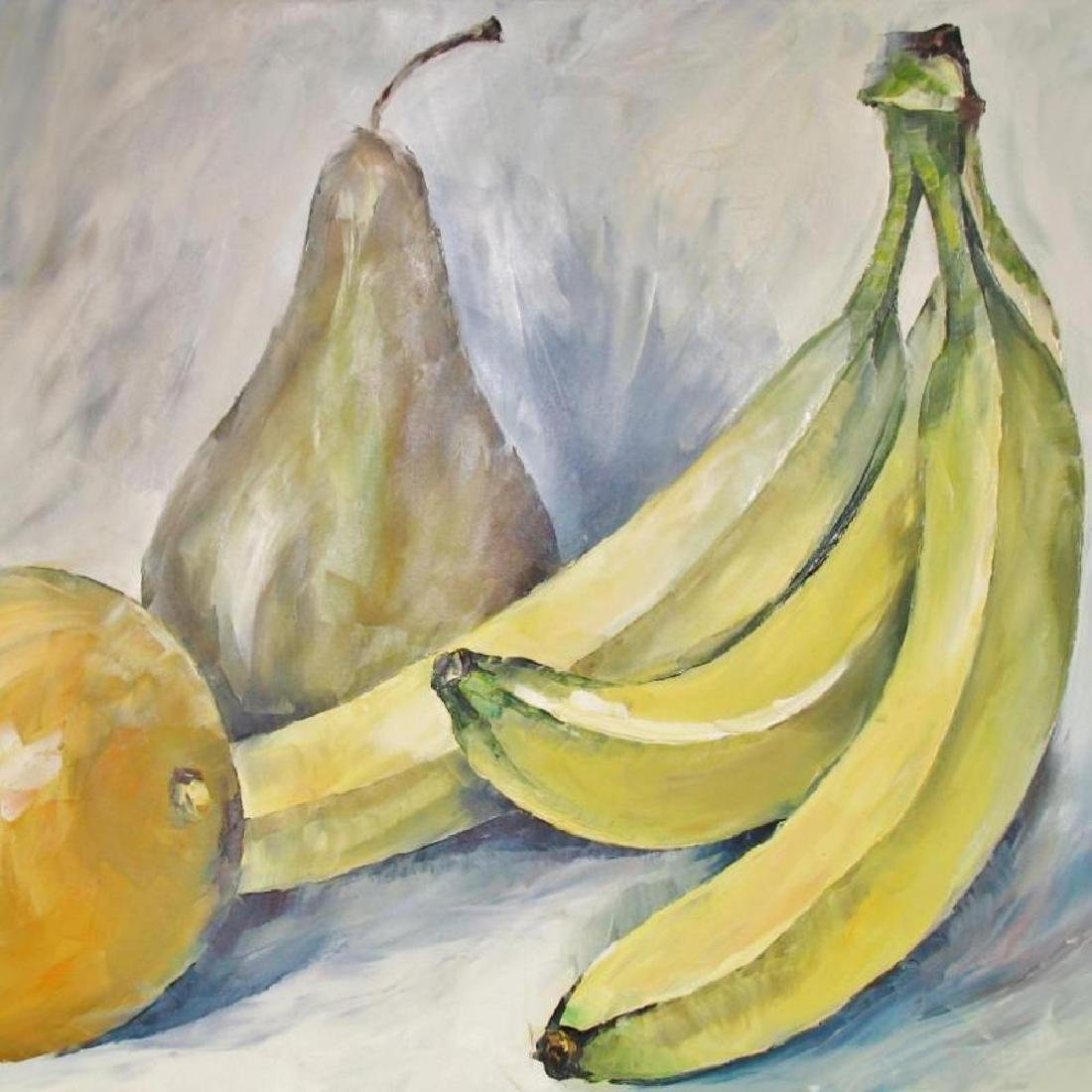 Textured Food Related Impressionistic Palette Knife - 2