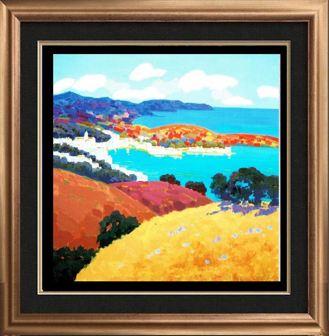Landscape Colorful Canvas Giclee Dealer Sale