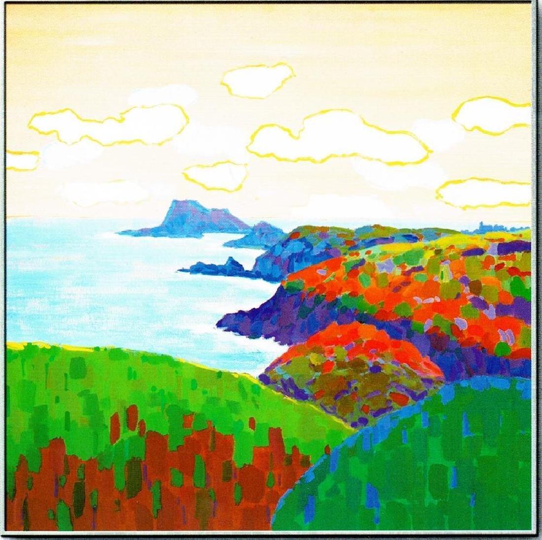 Landscape Colorful Canvas Giclee Dealer Sale - 2
