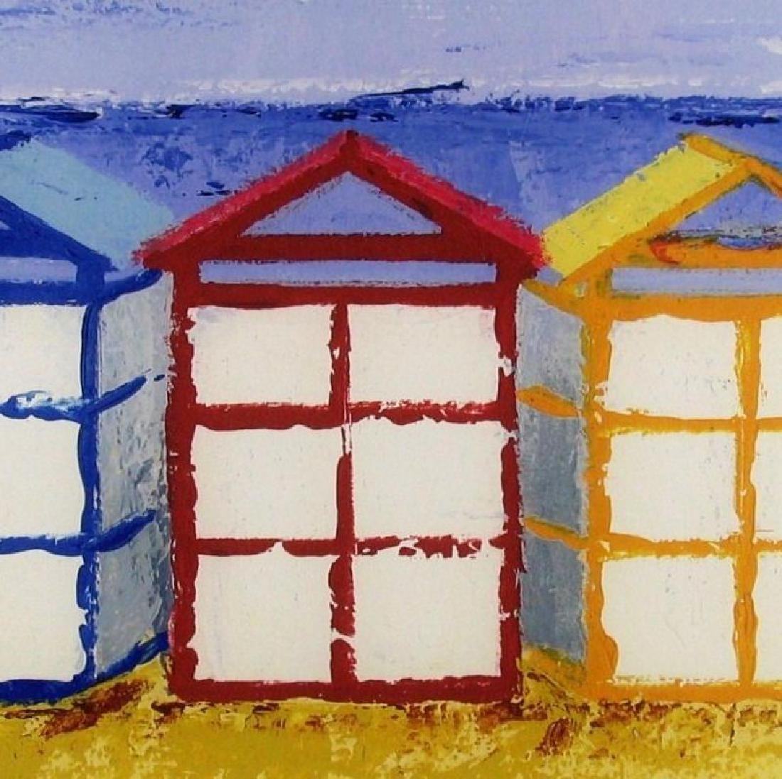 Beach Art Giclee Canvas Colorful 14x43 Great Art Sale - 3