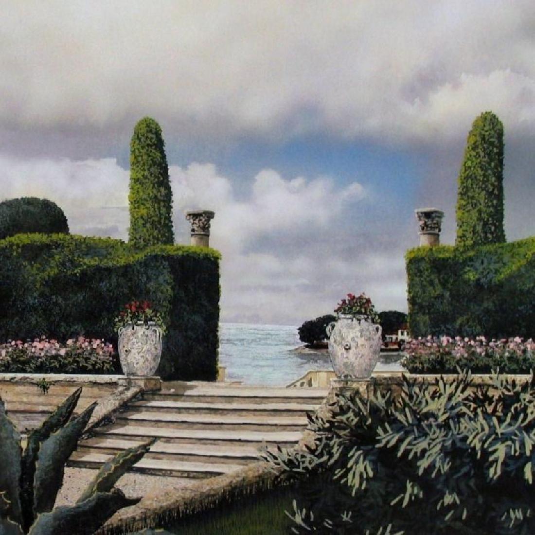 Print James Harris Stairway Landscape Realistic - 2