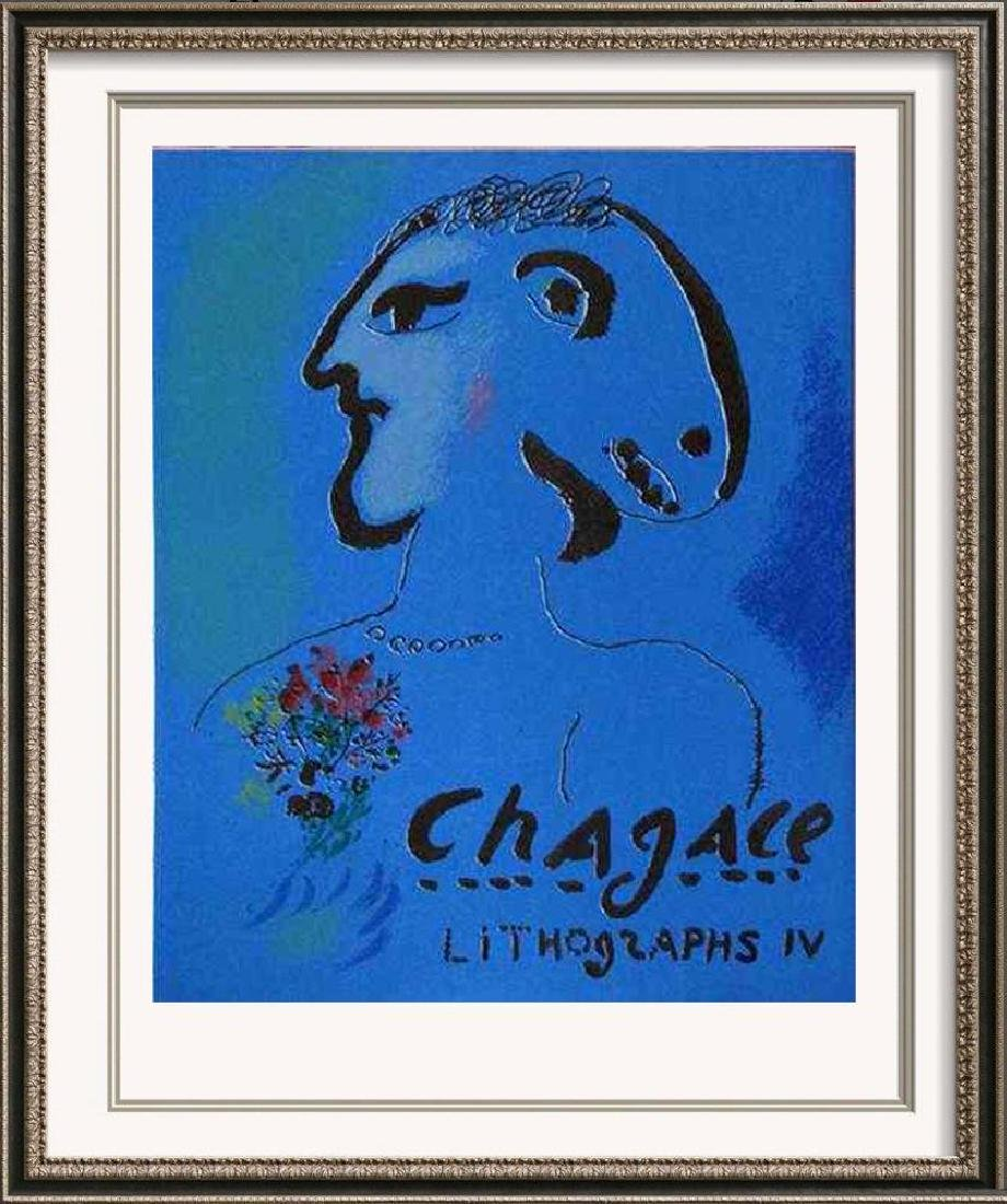 VIBRANT MARC CHAGALL ORIGINAL COLORED LITHOGRAPH