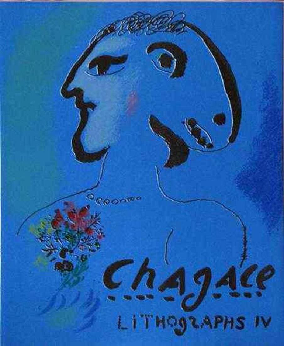 VIBRANT MARC CHAGALL ORIGINAL COLORED LITHOGRAPH - 2